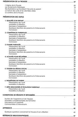 Guide -- table des matières